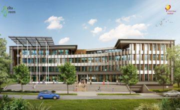 Delta Green - bureau à énergie positive - Nantes